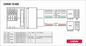 Carav 12 026 Iso Radio Adapter For Citroen C2 C3 C4 C5   Peugeot All Models Wiring Harness