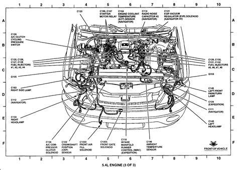 2001 Ford 5 4 Liter Engine Diagram by 5 4 Triton Engine Firing Order Diagram Downloaddescargar