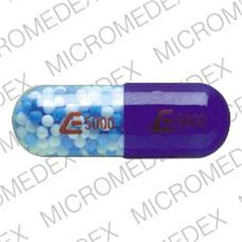 e5000 e5000 pill images blue clear capsule shape