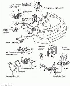 5 Toyota Corolla Engine Parts Diagram 5 Toyota Corolla