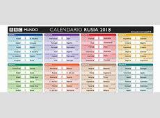 Calendario Eliminatorias Sudamericanas Rusia 2018 Excel