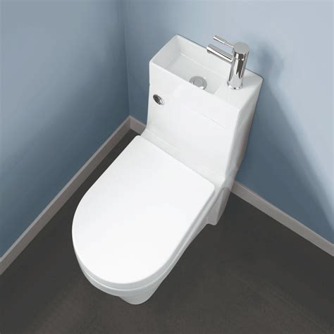 toilet and sink in one two in one combination close coupled toilet with wash basin