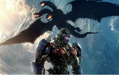 Optimus Prime Transformers Knight Dragon Last