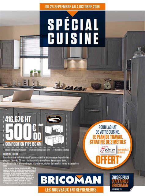 bricoman cuisine bricoman spécial cuisine cataloguespromo com