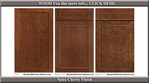 kitchen cabinet door finishes 410 cherry cabinet door styles and finishes maryland 5274