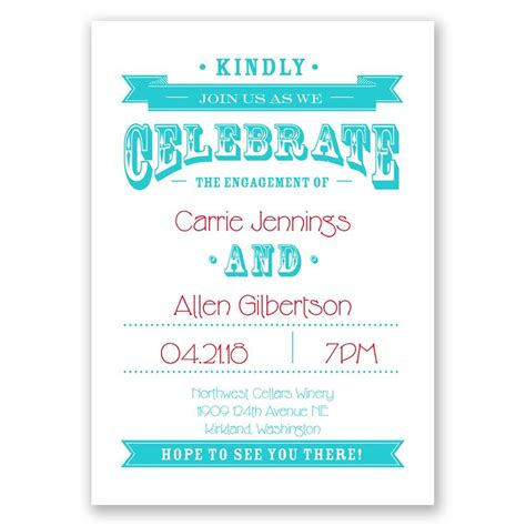 kindly join  engagement party invitation invitations