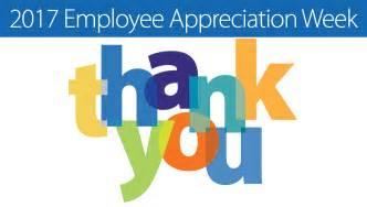Employee Appreciation Week 2017