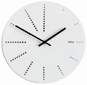 Wanduhr Weiß Modern : 224 wanduhr holz wei super modern 30 cm sabinesuhren ~ Eleganceandgraceweddings.com Haus und Dekorationen
