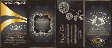 undangan pernikahan lux file cdr banten art design