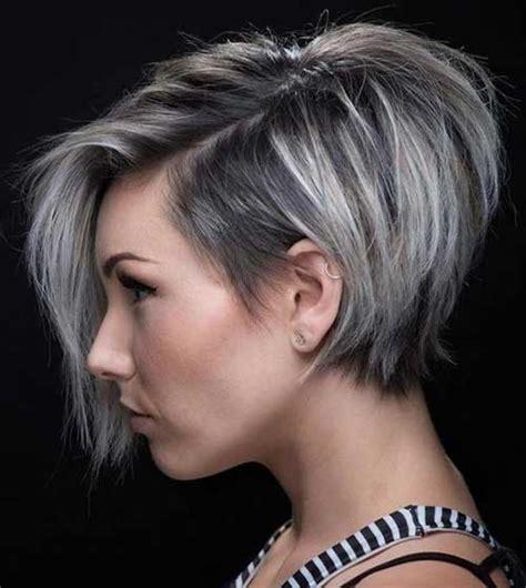latest trend graduated bob haircuts   short