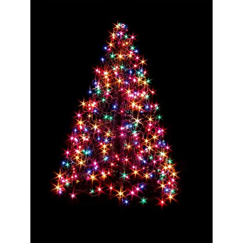 mixing white and colored lights on tree crab pot trees 4 ft indoor outdoor pre lit incandescent