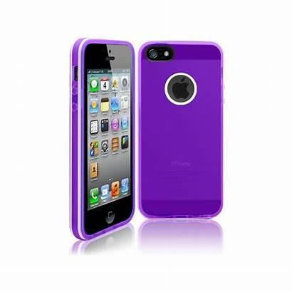 Iphone Coque Violette Stripes 5s Tpu Verte