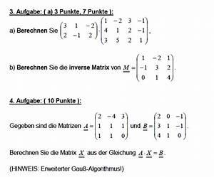 Eigenwert Matrix Berechnen : matrix und inverse matrix berechnen ist aufgabe 3a ~ Themetempest.com Abrechnung