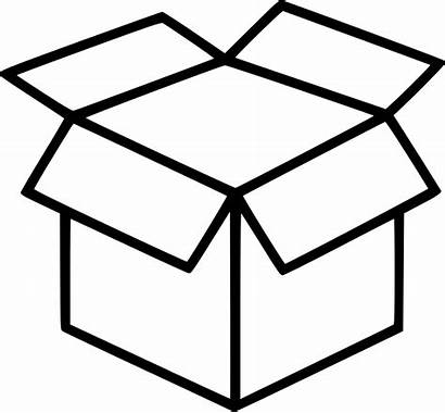 Box Icon Packing Clipart Shipping Packaging Delivery