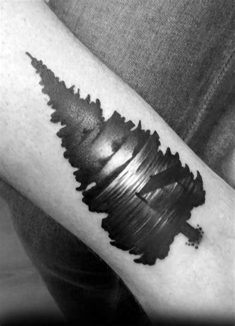 40 Lake Tattoo Designs For Men - Nature Ink Ideas