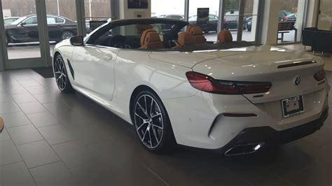 2019 Bmw M850 Convertible Alpine White With Cognac