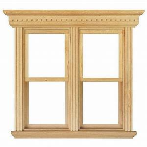 Opening Double Sash Window Frame - 1:12 Scale, Doors and ...