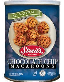 We have some incredible recipe ideas for you to attempt. Streit's Chocolate Chip Macaroons | Food, Kosher baking, Dog food recipes