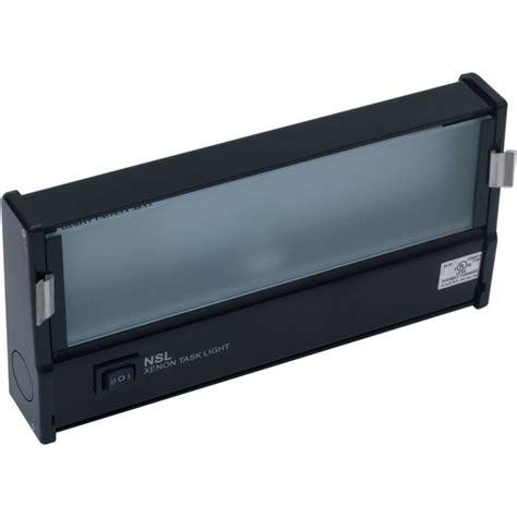 Nsl Lighting - nsl xtl 1 hw bk 9 quot xenon task light 120v black