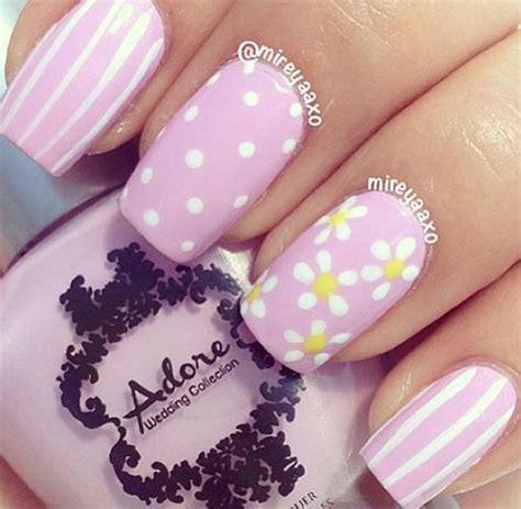 spring gel nail art designs ideas stickers
