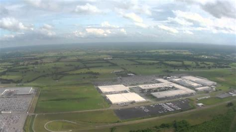 Hyundai Plant Montgomery by Hyundai Sonata Plant In Montgomery Alabama From The Air