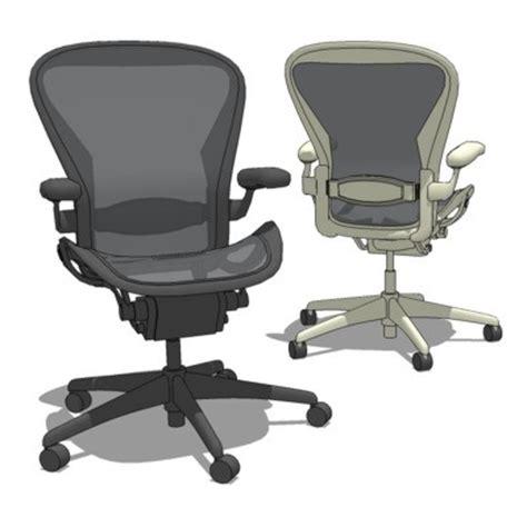 aeron task chair 3d model formfonts 3d models textures