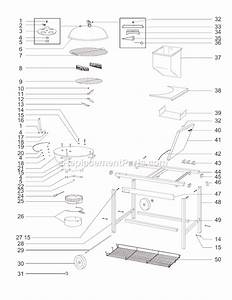 Weber 801001 Parts List And Diagram