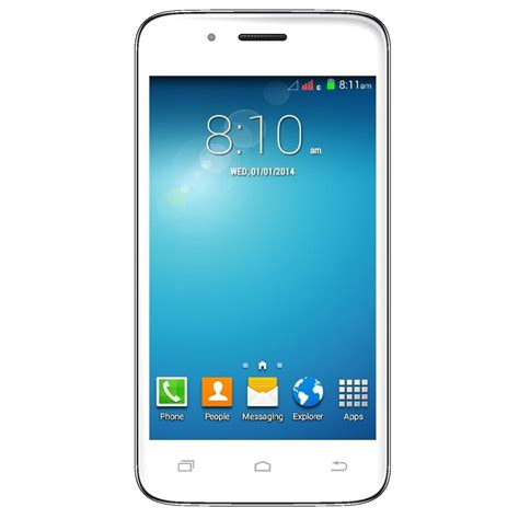 mobile android phones vox kick k5 dual sim android mobile phone white large