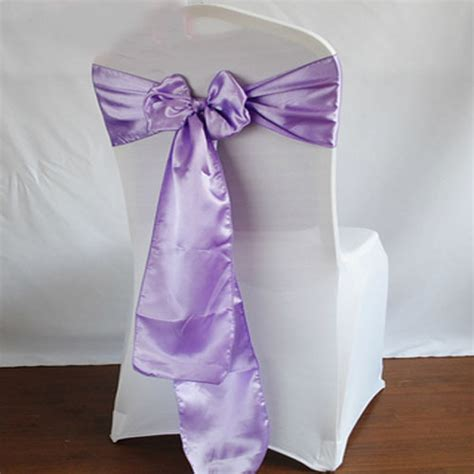 2014 50pcs purple wedding banquet satin chair