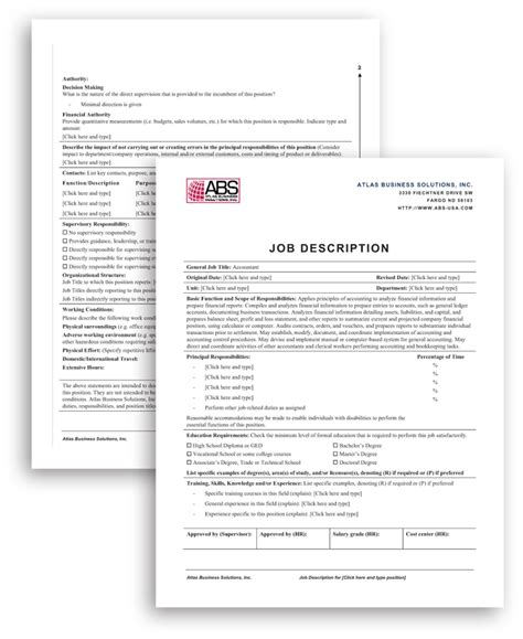 Creating Descriptions Template by Affordable Human Resource Information System Hris