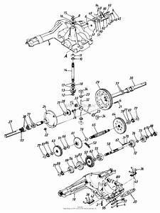 Mtd 145q849h205  1995  Parts Diagram For Transaxle