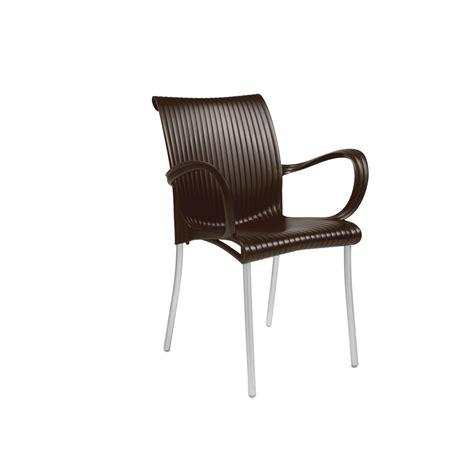 fauteuil avec accoudoir pour jardin nardi dama zendart