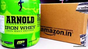 Arnold Iron Whey By Musclepharm Whey Protein Complete Unboxing From Amazon