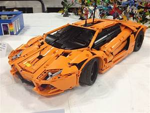 Lego Technic Lamborghini : orange aventador lego technic and model team ~ Jslefanu.com Haus und Dekorationen