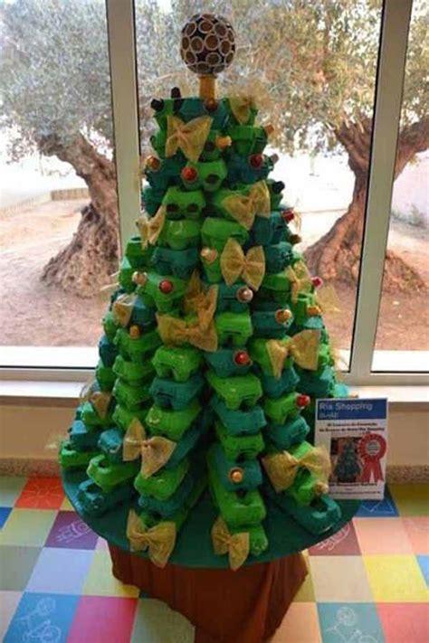 como adornar un arbol de navidad de papel de 50 fotos 193 rboles de navidad reciclados 193 rbol de