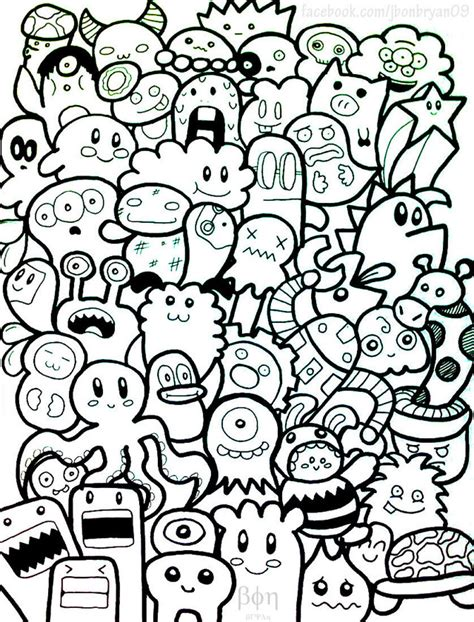 How to draw doodle design