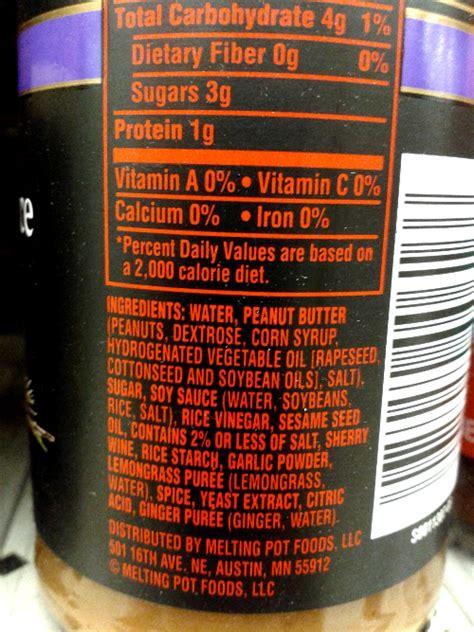 decode food labels  peanuts attack