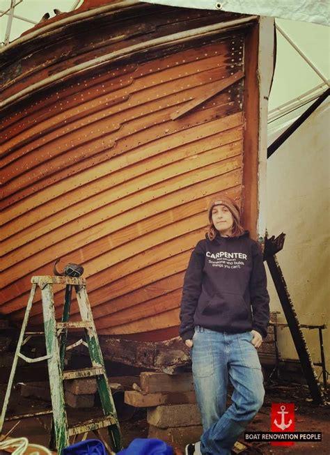search  female boat builders boat renovation people
