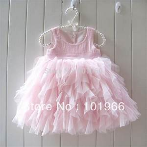 free shipping pink beautiful baby girl tutu dress With robe noel bébé fille kiabi