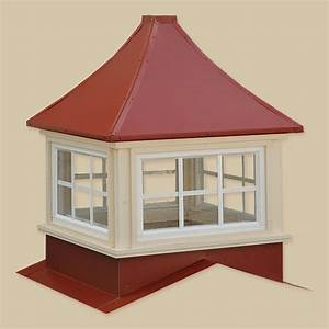 Sundance series vinyl cupolas portable buildings inc for Cupola windows
