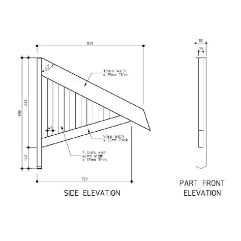 awning plans woodcraft kit wood projects  logs
