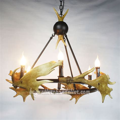 Antler Chandelier Shop by Moose 4 Cast Antler Chandelier Candelabra Pendant Lighting