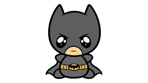 Como desenhar o Batman fofo (kawaii cute Cavaleiro das