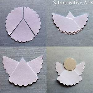 Innovative Arts: How to make a simple DIY ORIGAMI angel ...