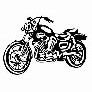 Motorcycle Clipart In Black And White – 101 Clip Art