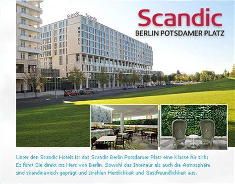 scandic berlin potsdamer platz  hotel alle hotels berlin