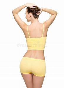 Perfect Female Body With Thin Waist Stock Image - Image ...
