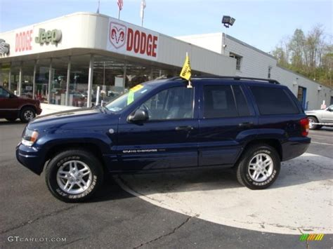 blue jeep grand cherokee 2004 2004 midnight blue pearl jeep grand cherokee laredo 4x4
