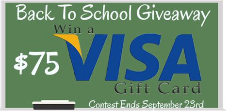 visa gift card giveaway time post rx