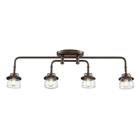 allen roth bristow 4 light specialty bronze standard
